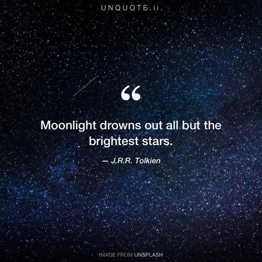 Image from Unsplash remixed with quote from J.R.R. Tolkien.