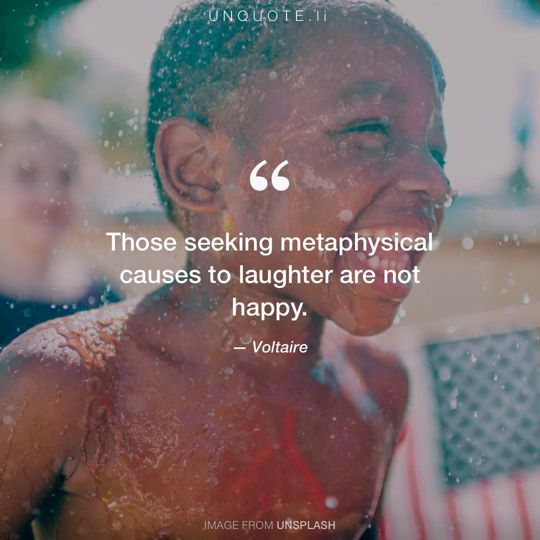 Image from Unsplash remixed with quote from Voltaire.