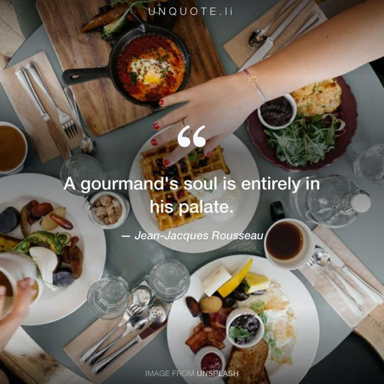 Image from Unsplash remixed with quote from Jean-Jacques Rousseau.