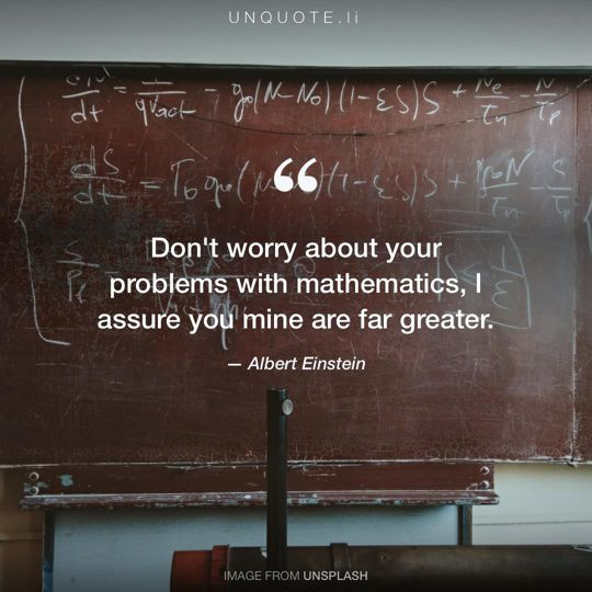 Image from Unsplash remixed with quote from Albert Einstein.