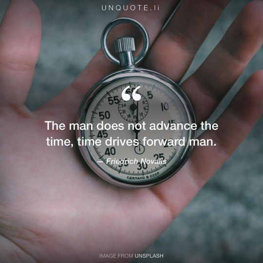 Image from Unsplash remixed with quote from Friedrich Novalis.