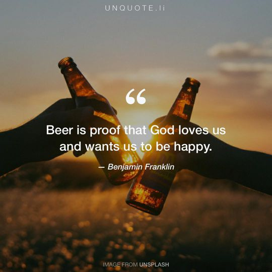 Image from Unsplash remixed with quote from Benjamin Franklin.
